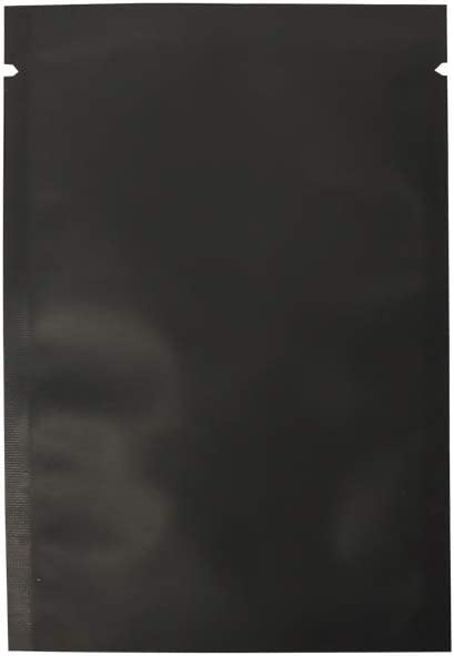 Los Angeles Mall 200PCS Double Sided Matte Black Mylar Top Heat Outlet SALE Seal Foil Ba Open