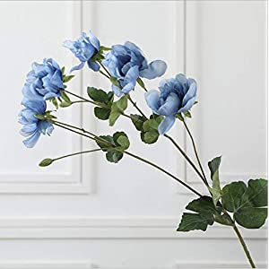 Artificial and Dried Flower Artificial Anemone Artificial Flower Wedding Home Decoration Flower Arranging Furnishing Articles False Blossom