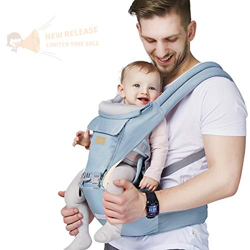 top 10 baby carriers Baby carrier, 6-in-1 baby carrier with waist stool, FRUITEAM baby carrier with hip seat …