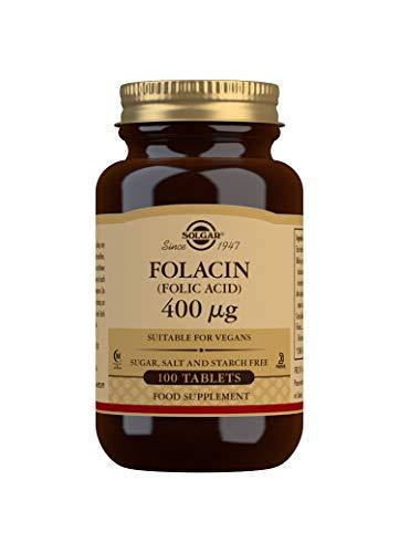 Solgar Folacín (ácido fólico) 400 µg - 100 comprimidos