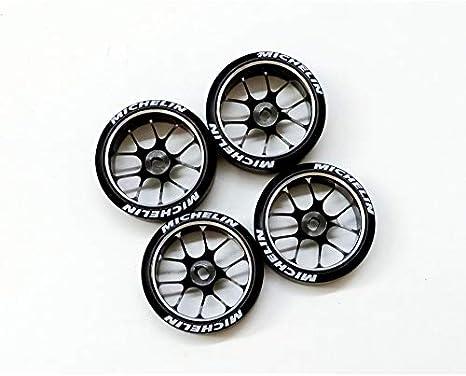 4Pcs RC Car Metal Wheel Rim Set Fit for WLTOYS K969 K979 K989 1//128 RC Car