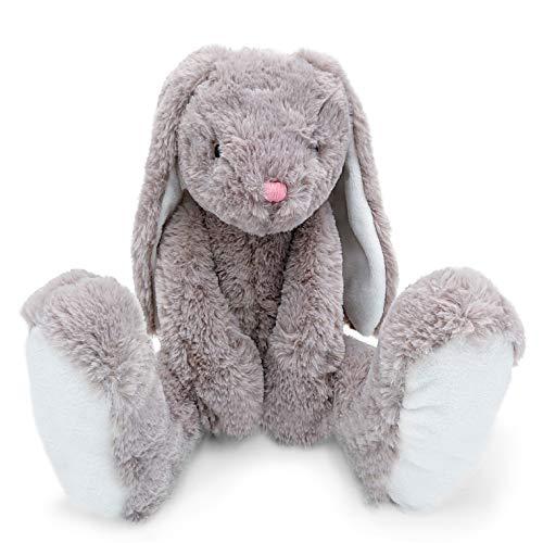 Mollis Molli Toys Hase Isabelle Kuscheltier 60 cm grau - Plüschtiere entwickelt in Schweden