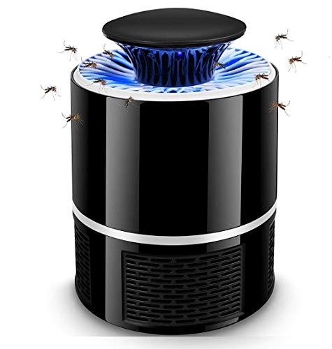 Kauriea Elettrica Mosquito Killer Lampada Antizanzare USB Lamp LED con Luce UV Insetti Trappola Anti Zanzare Ultra-Silenziosoper Esterno ed Interno