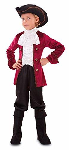 EUROCARNAVALES Disfraz de Pirata Granate Infantil - Niño, 10-12 años