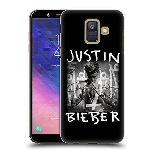 Head Case Designs Offizielle Justin Bieber Albumcover Purpose Harte Rueckseiten Huelle kompatibel mit Samsung Galaxy A6 (2018)
