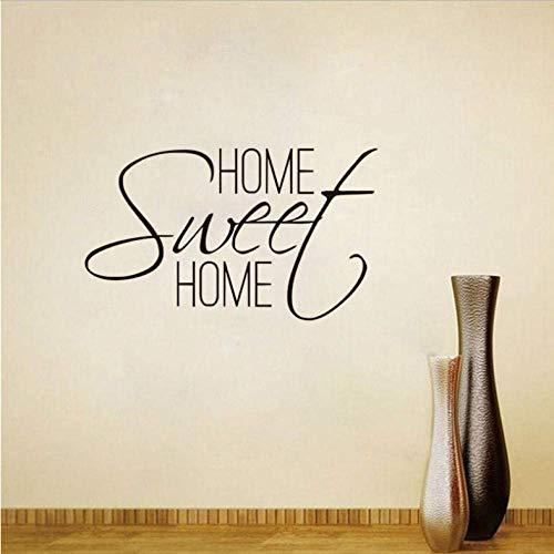 Sweet Home Wall Stickers Dormitorio Diy Vinilos Decorativos Para Vinilo De Pared Pegatinas De Personajes 40X68Cm