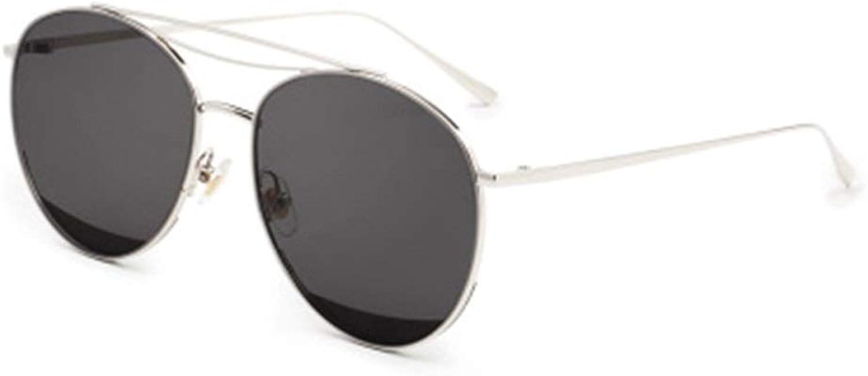 NIANYU Driving Transparent Glasses, UV Predection, Sunglasses Male Sunglasses for Men Metal Frame Classic Eyewear (color   Black)