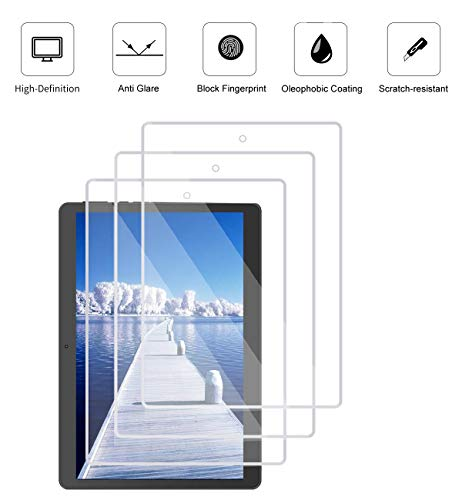 KEANBOLL 3 Pack Matte Anti-Glare Screen Protector for All New Fire HD 10 Tablet 10.1 Inch (9th Generation 2019 2020 Release and 7th Generation 2017 Release) Help for Your Eyes Reduce Fatigue