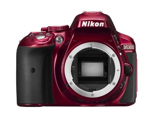 Nikon D5300 DSLR Camera in Black with 18-55mm AF-P VR Lens