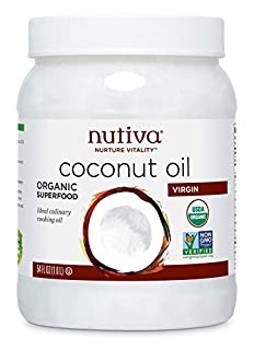 Nutiva Organic, Unrefined, Virgin Coconut Oil, 54 Fl Oz (Pack of 1) (B000GAT6NG) | Amazon price tracker / tracking, Amazon price history charts, Amazon price watches, Amazon price drop alerts