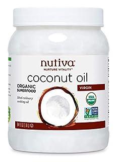 Nutiva Organic Unrefined, Virgin Coconut Oil, 54 Fl Oz (B000GAT6NG) | Amazon price tracker / tracking, Amazon price history charts, Amazon price watches, Amazon price drop alerts