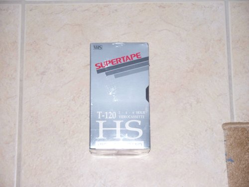 Radio Shack SuperTape T-120 VHS Blank Video Cassette