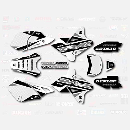 Gray Shift Graphics Kit fits Suzuki DRZ400SM Drz400s drz400 Supermoto DRZ