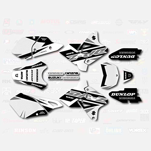 Gray Shift Graphics Kit fits Suzuki DRZ400SM Drz400s drz400 Supermoto DRZ