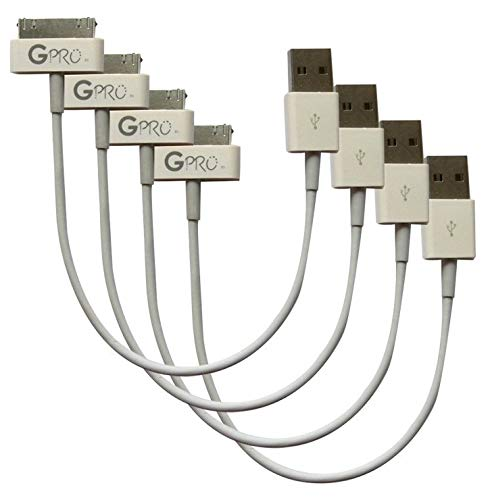 GadgetsPRO 30-pin to USB Cable for All Apple 30-pin Devices - Short 0.2m/8in