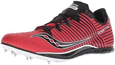 Saucony Men's Vendetta 2 Track Shoe, red/Black, 12 Medium US