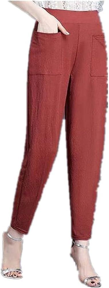 NP Trousers Casual Harem Waist Straight Long Women Pants Street wear Cool Summer