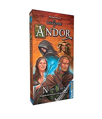 Giochi Uniti - Die Legenden von Andor Neue Helden Mehrfarbig