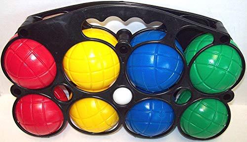 Mookie Juguetes juego de pelota francés Boules Con Jack Para Playa Parque Jardín Juegos 8 piezas