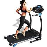 SereneLife Smart Digital Folding Treadmill - Electric Foldable Exercise Fitness Machine, Large...