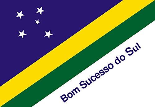 magFlags Drapeau Large Bom Sucesso do Sul PR | Bom Sucesso do Sul, Paraná, Brazil | Bom Sucesso do Sul, Paraná, Brasil | Drapeau Paysage | 1.35m² | 90x150cm