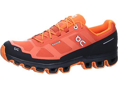 On Running M Cloudventure Waterproof Rot, Herren Laufschuh, Größe EU 42 - Farbe Rust - Orange