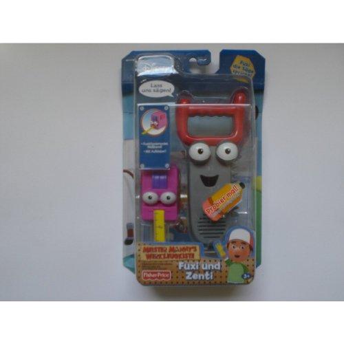 Mattel P3086 - Playhouse Disney - Meister Manny's Werkzeug Stretch & Dusty