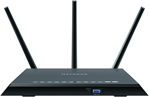 NETGEAR Nighthawk WiFi Router (R7000P) - AC2300 Wireless Speed (up to 2300 Mbps) | Up to 2000 sq ft Coverage & 35 Devices | 4 x 1G Ethernet and 2 USB ports | NETGEAR Armor Cybersecurity, Black