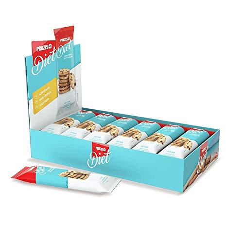 Prozis Diet Bar 12x35g - Delicioso Aperitivo Masa para Galettas - Rico en Protena y Bajo en Hidratos de Carbono y Azcares - Ideal para las Dietas de Prdida de Peso y Libre de Culpa