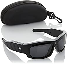 GoVision Polarized HD Video-Capture Sunglasses with Still Camera, Carrying Case and 4GB microSDHC Card - BLACK