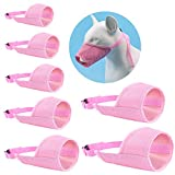 JYHY Nylon Dog Muzzle - Adjustable Quick Fit pet Muzzle Prevent from Biting