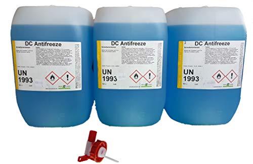 DC DruckChemie GmbH Scheibenenteiser 30 Liter Kanister + Auslaufhahn - 3 x 10 Liter Entfroster