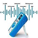 PeakTech 3440 - Multímetro Digital Rms con 4.0 Bluetooth y Pantalla Gráfica,...