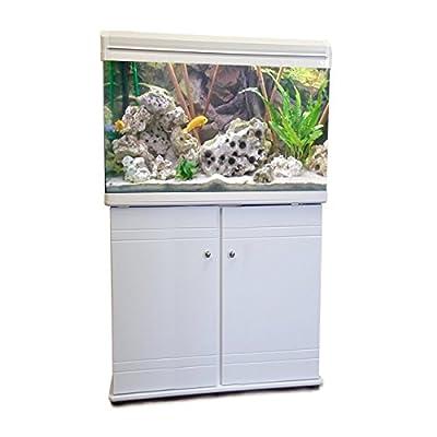 Boyu Aquarium Fish Tank & Cabinet 60cm 80L (White)