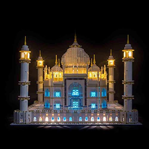 DAN DISCOUNTS - Kit di illuminazione a LED per LEGO Taj Mahal 10256, senza set Lego