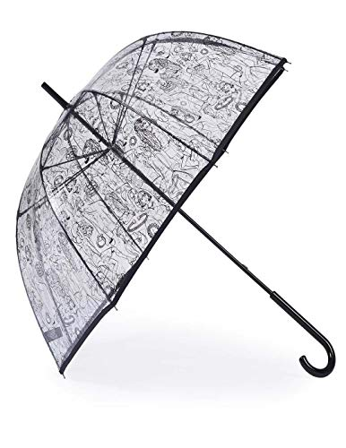 Paraguas Tous Transparente para mujer.