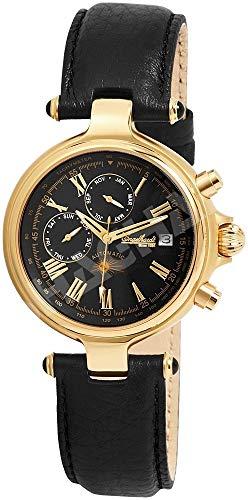 Engelhardt Herren Analog Mechanik Uhr mit Leder Armband 385701029028