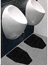 Grey Pack of 4 27 Width x 21-1//2 Length x 1//4 Thickness WizKid Fiber Toilet//Commode Mat 27 Width x 21-1//2 Length x 1//4 Thickness WizKid Mat WIZKID/_C/_G4