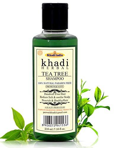 Khadi Herbal Natural Herbal Tea Tree Shampoo/Hair Cleanser For Nourished & Healthy Hair (Pack Of-1)