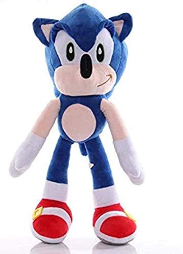 Cartoon Blaue Sonic Plüsch Spielzeug Anime Game Igel Puppe Niedliche Gefüllte Anhänger Geschenke Kinder Kinder Geburtstagsgeschenk 45 cm Gzzxw