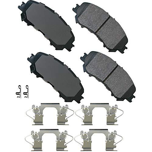 Akebono-ACT1737 Ultra-Premium Ceramic Front Disc Brake Pads
