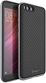Xiaomi Mi6 IPAKY TPU Hybrid Case Cover - Silver.