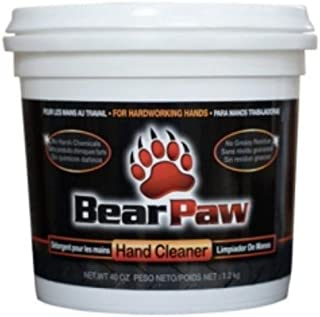 Bear Paw Hand Cleaner, 40oz Tub (1)