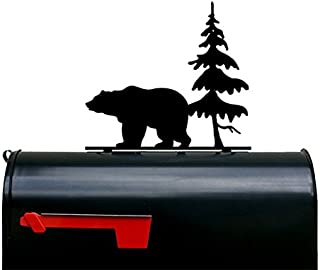Bear and Tree Mailbox Topper/Plaque / Sign