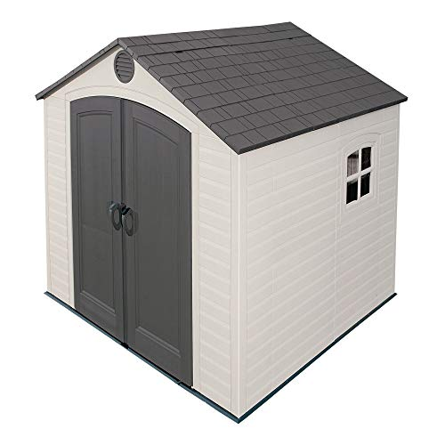 Hot Sale Lifetime 6411 8-by-7-1/2-Foot Outdoor Storage Shed with Window