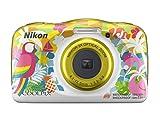 Nikon Coolpix W150 Fotocamera Digitale Compatta, 13.2 Megapixel, LCD 3', Full HD, Impermeabile, Resistente agli Urti, alle Basse Temperature e alla Polvere, Resort