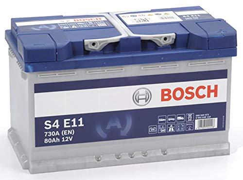 Bosch S4E11 Batería de automóvil 80A/h-730A