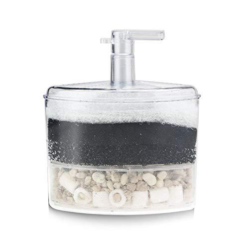 Silverdee Aquarium Filter Mini Aquarium Pneumatischer Filter Professioneller Reinwasserbehälter Reinigungswasser