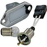 Eckler's Premier Quality Products 25-123880 - Corvette Courtesy Light With Socket And Wire