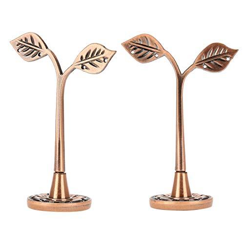 Soporte de exhibición de la pulsera de la decoración del árbol del soporte de exhibición del pendiente, para la organización casera de la joyería